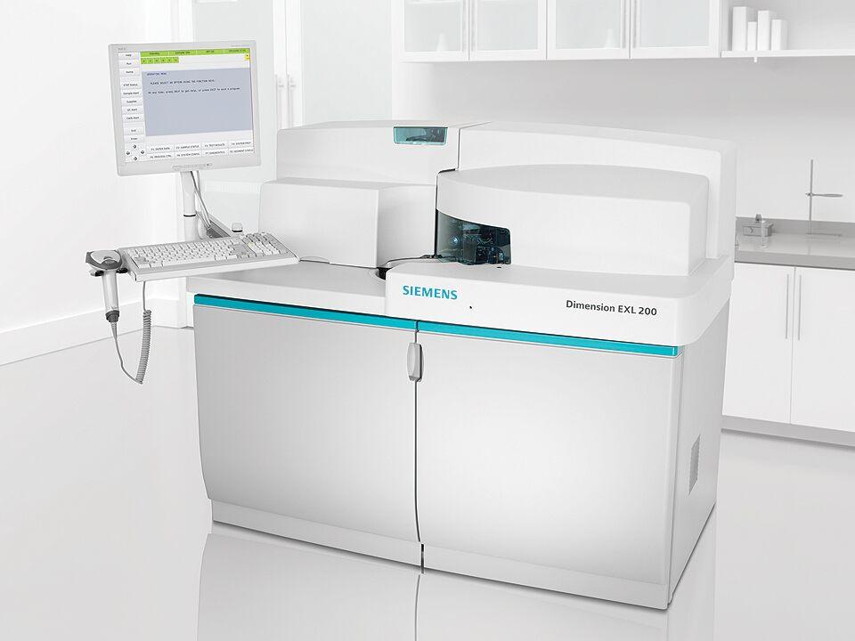 Sistema de Bioquímica Integrada Dimension EXL 200